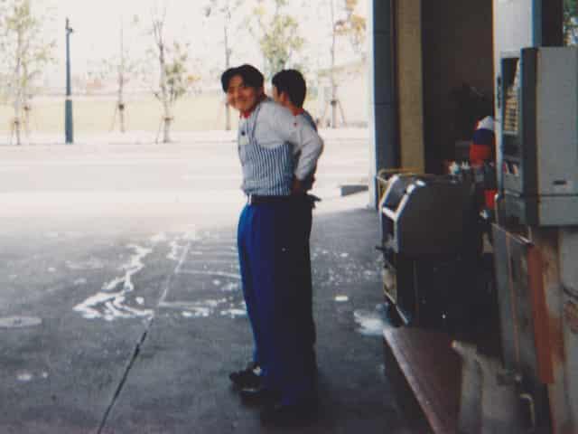 開業までの13年間は、ガソリンスタンドさんに勤務しました